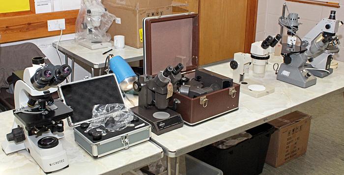 Paul Wheatley's microscopes