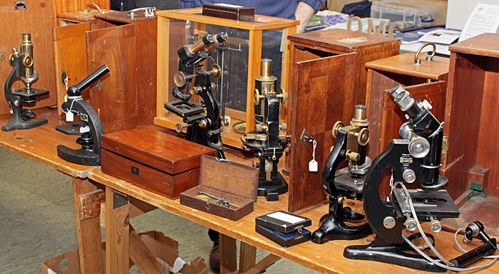 Steve Gill's microscopes