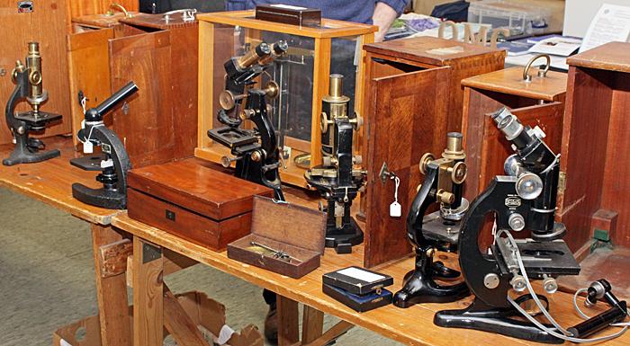 Steve Gill's microscopes