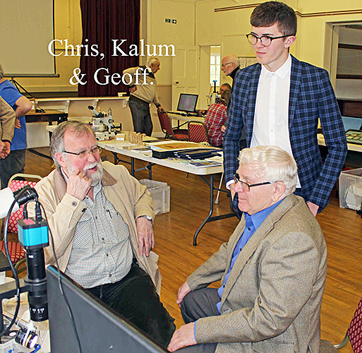 Chris Kennedy, Kalum Mould and Geoff Mould