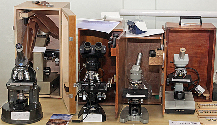 Colin Lamb's microscopes for sale