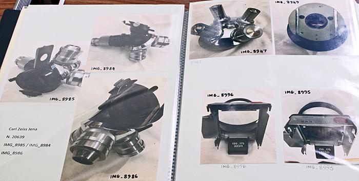 Equipment from Harold Hillman's estate