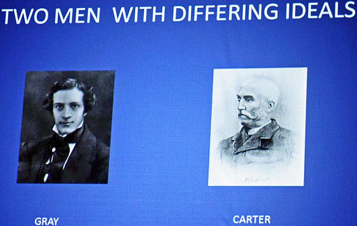 Henry Gray and Henry van Dyke Carter