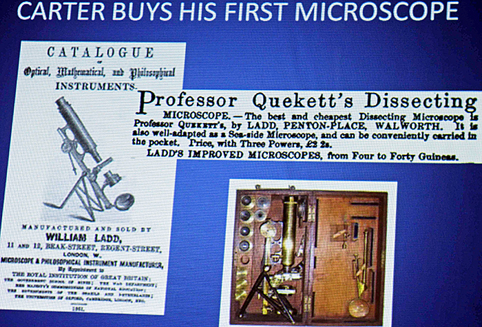 Henry van Dyke Carter's microscope