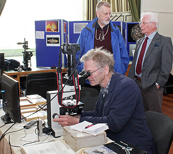 Jeremy Poole, Mervyn Bown and a visitor