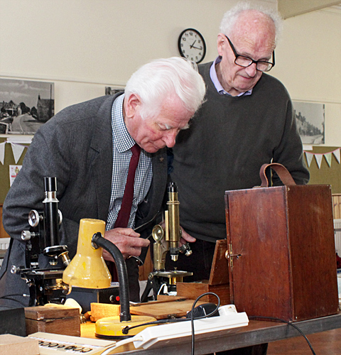 Mervyn Bown and Brian Darnton