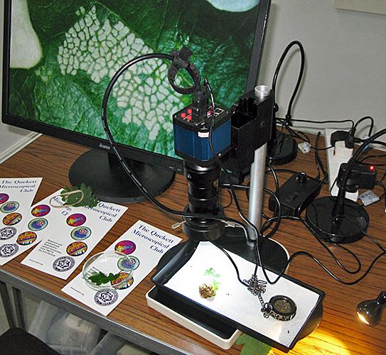 Dennis Fullwood's inspection camera