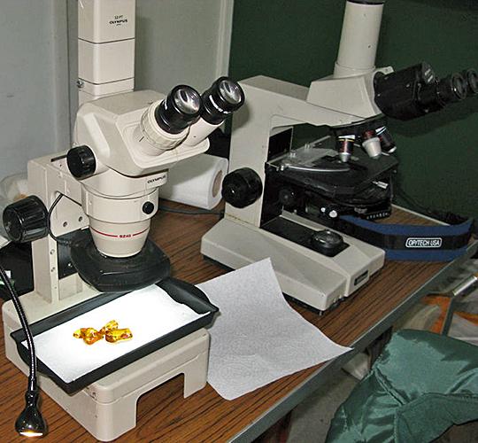 Dennis Fullwood's microscopes