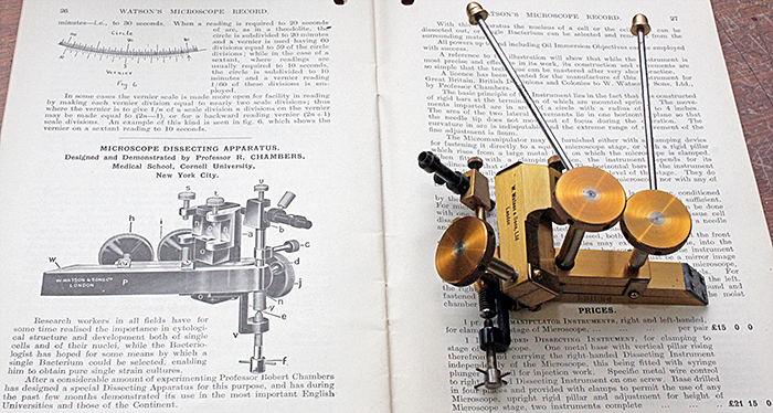 Watson Microscope Dissecting Apparatus