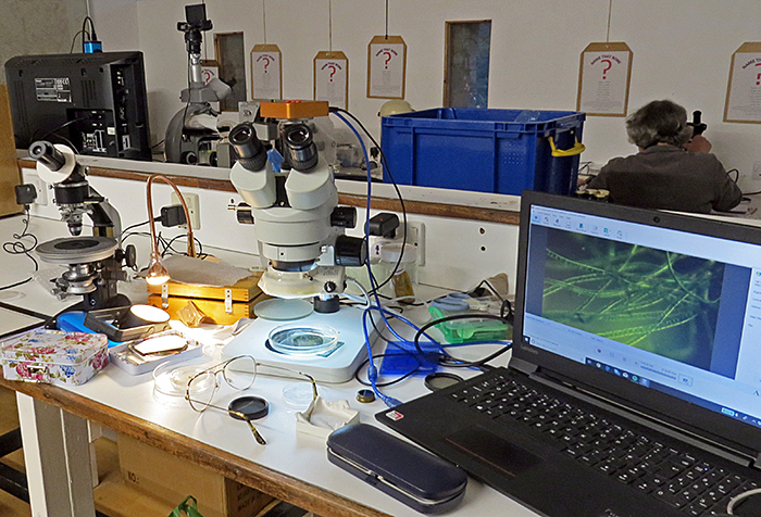 Microscopes and computer