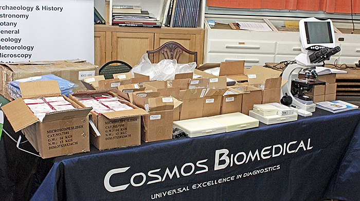 Cosmos Biomedical stand