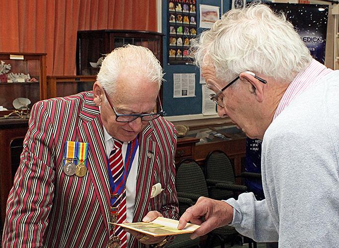 Deputy Mayor with Mark Shephard