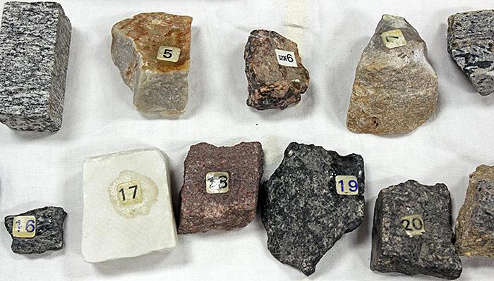Ray Chapman's minerals