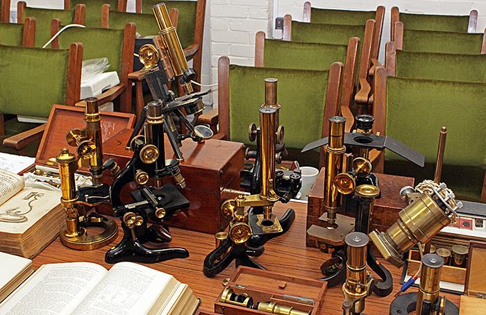 Steve Limburn's microscopes