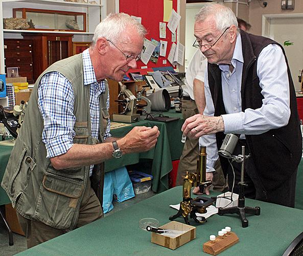 Tim Newton and John Fletcher