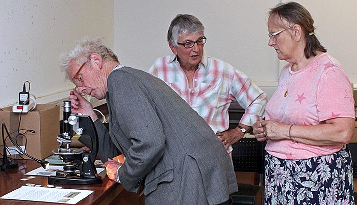 Maurice Moss, Pam Hamer and Jacky McPherson
