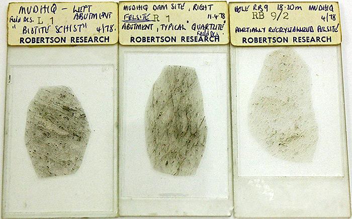 Robertson Research slides