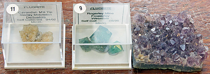 Kit Brownlee's micromounts and minerals