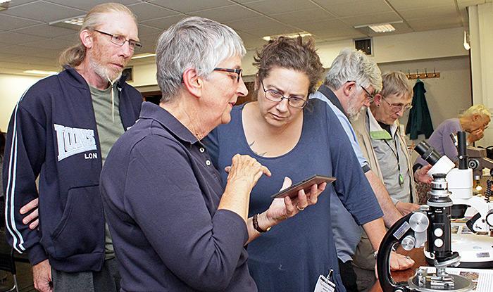 Nigel Ashby, Pam Hamer and Lisa Ashby