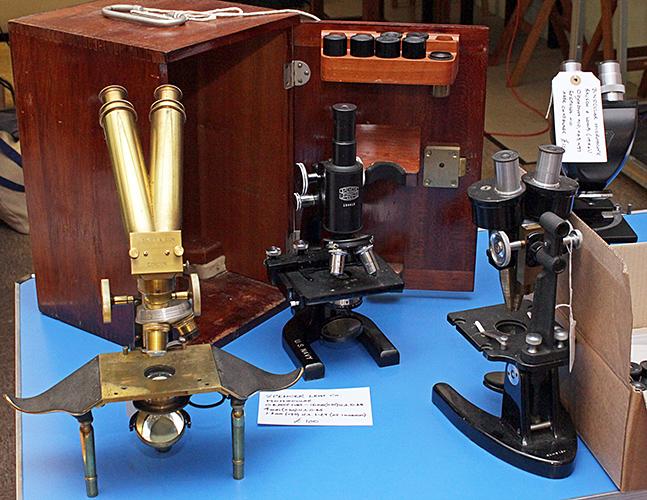 Barry Ellam's microscopes