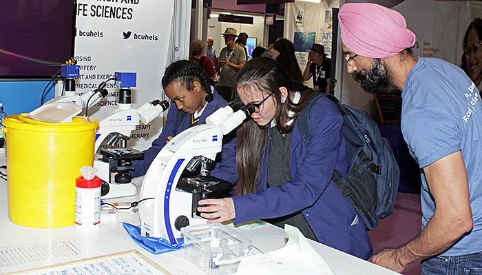 Birmingham City University's Zeiss Primo Star microscopes