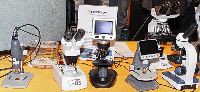 Celestron microscopes