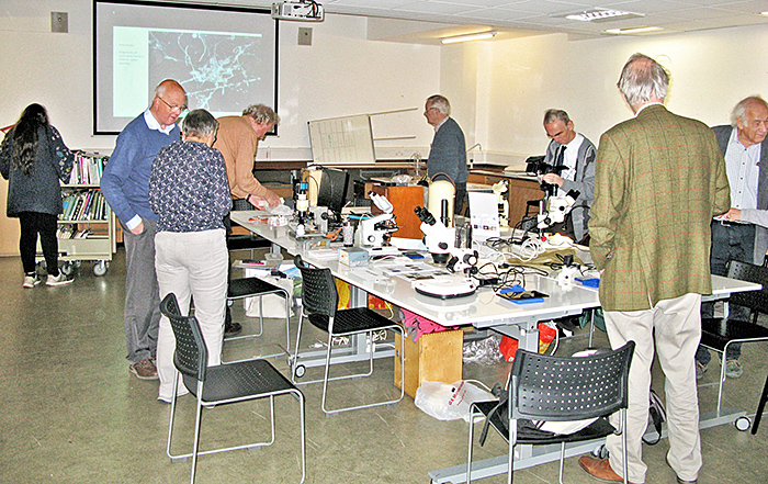 Exhibits and demonstrations in the PA135 Meeting Room