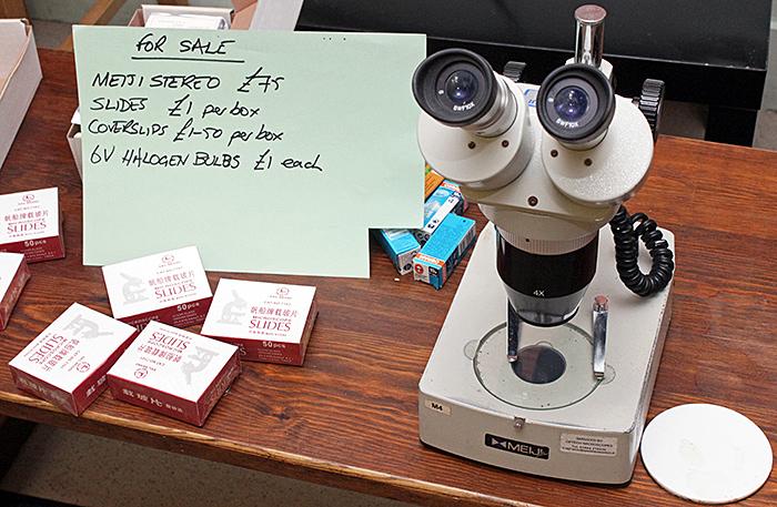 Meiji EMT stereomicroscope