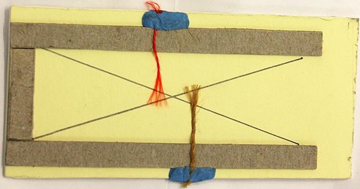 Jig for arranging fibres