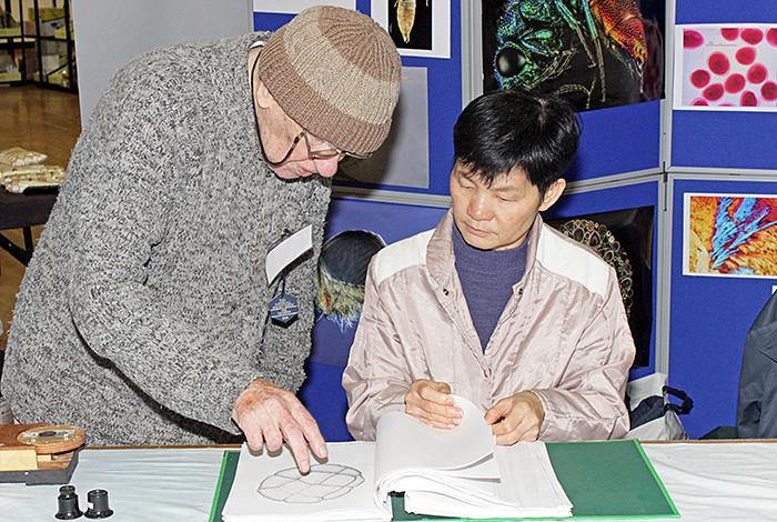 Norman Chapman and Thanya Nirantasook