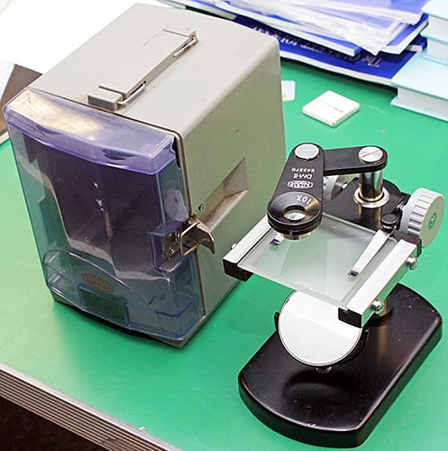 Olympus DM-II dissecting microscope