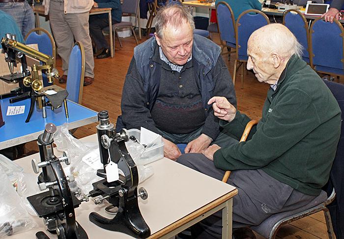 Peter Sunderland and Barry Ellam