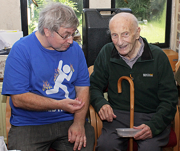Robert Ratford and Barry Ellam