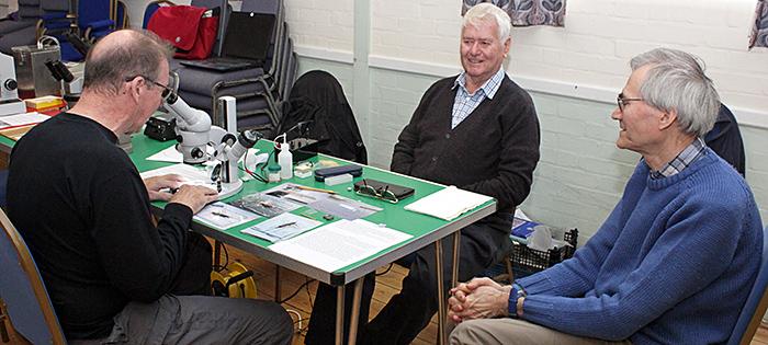 Steve Durr, Andy Johnston and John Rhodes