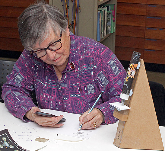 Joan Bingley drawing