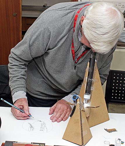 Tristram Martyn drawing