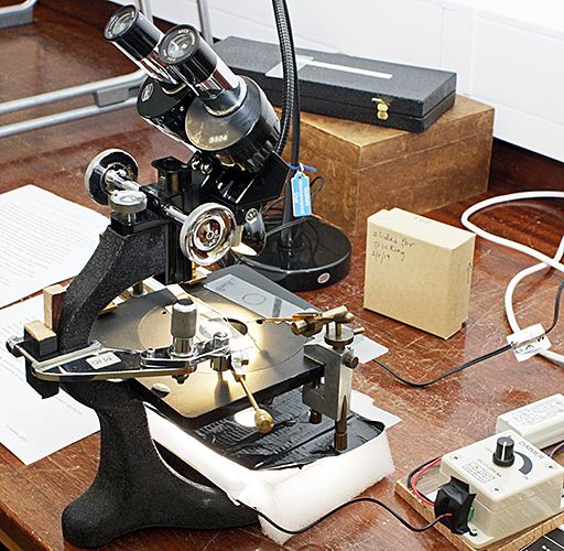 Beck stereomicroscope