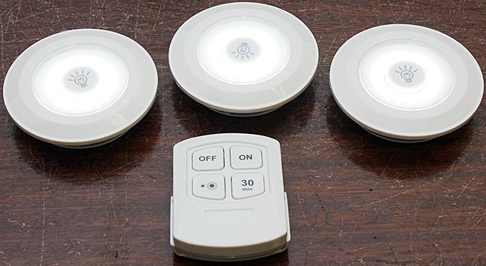 3pc COB Light Remote Control