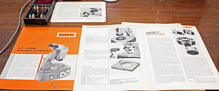 Watson 5:1 Zoom Stereomicroscope leaflets