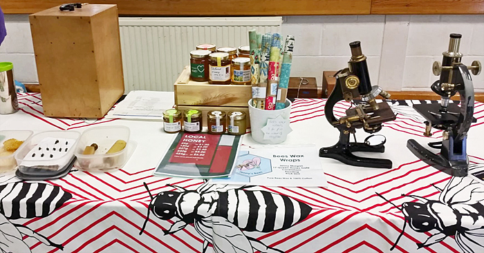 Reading Beekeepers Association stand