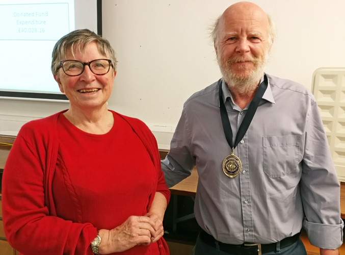 Joan Bingley and Steve Gill