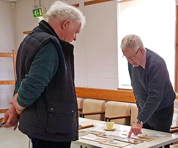 Peter Wyn-Jones and Mark Shephard