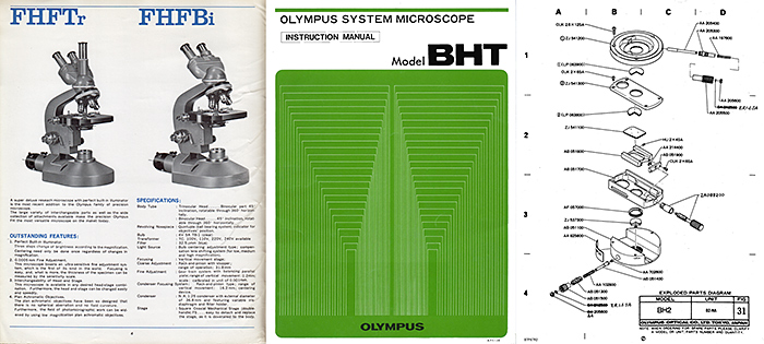 Scanned Olympus documents
