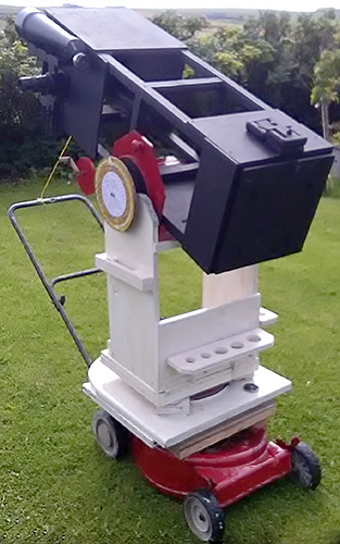 Assembled telescope