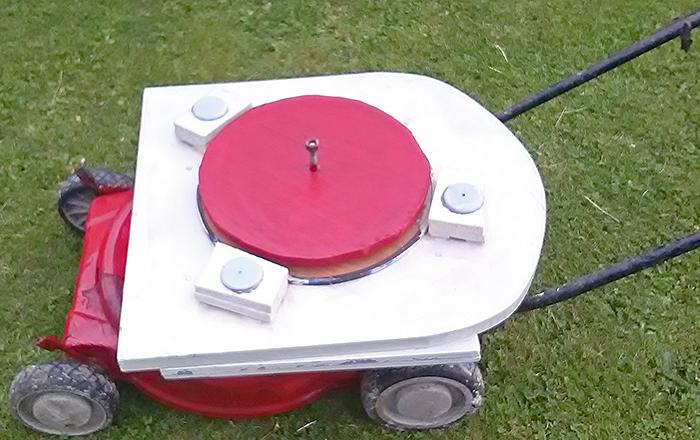 Lawn mower platform