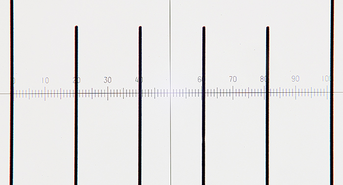 Calibrating an SPlan 20× objective