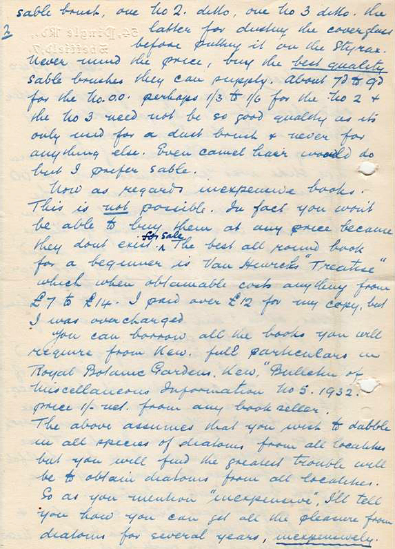 Letter from 11th September 1940, page 2