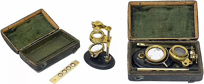 Jones Universal Pocket microscope
