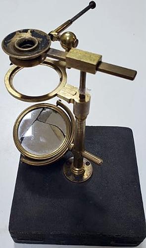 W. and S. Jones Ellis type aquatic microscope