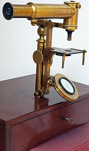 Noël Buron microscope